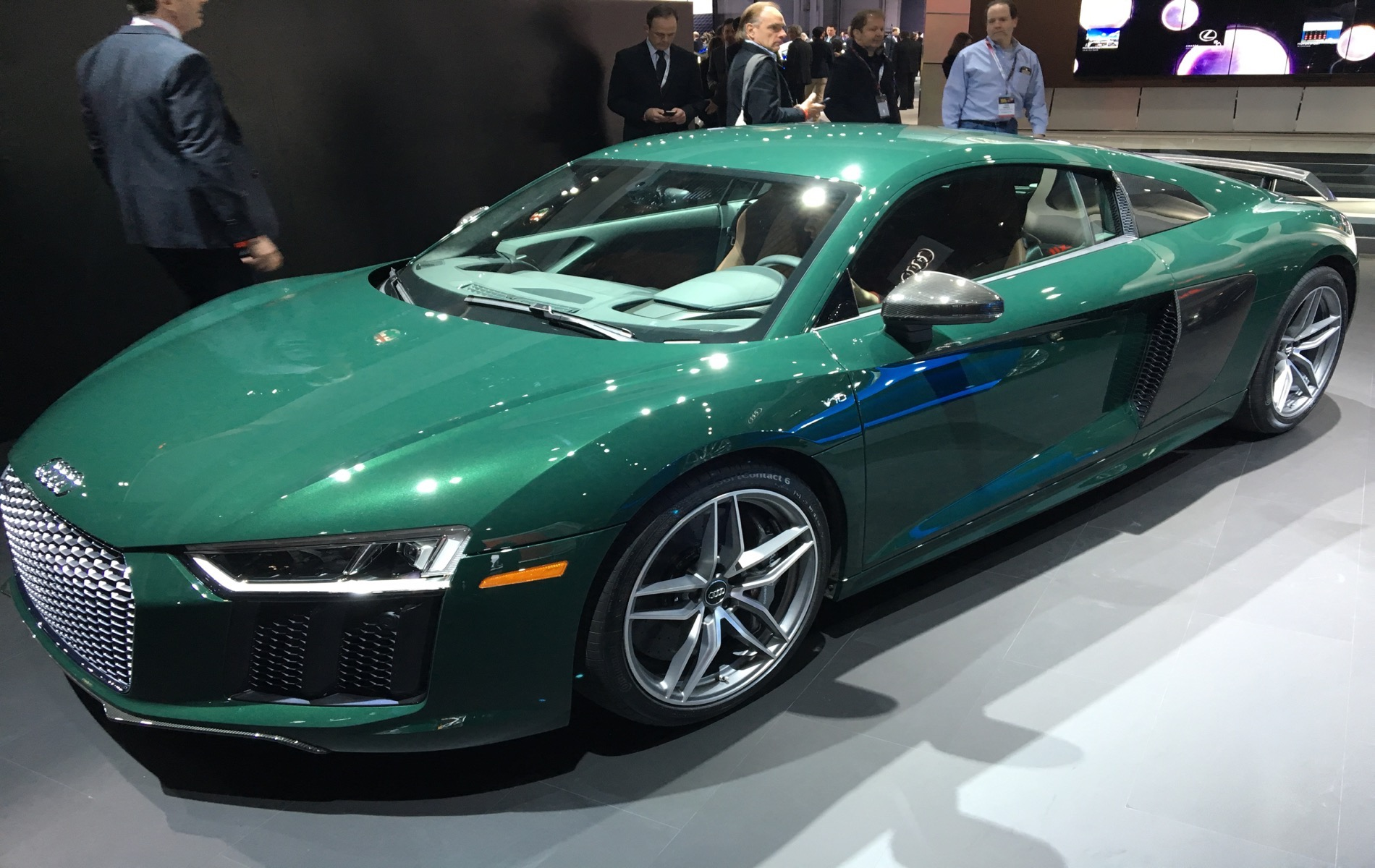 2016 Nyias Live Photos Audi R8 V10 Plus Goodwood Green