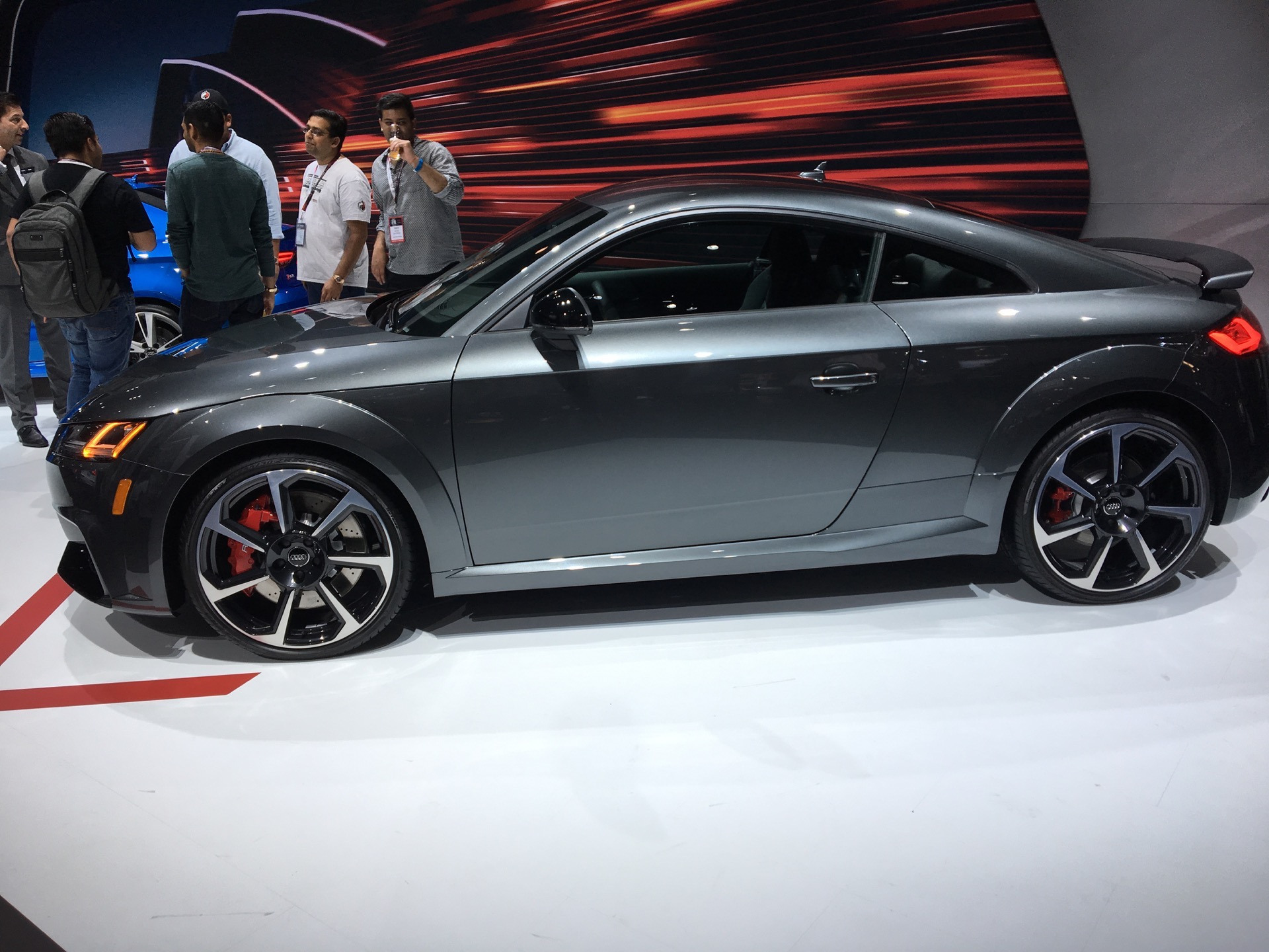 2017 New York Auto Show: 2018 Audi TT RS makes American debut