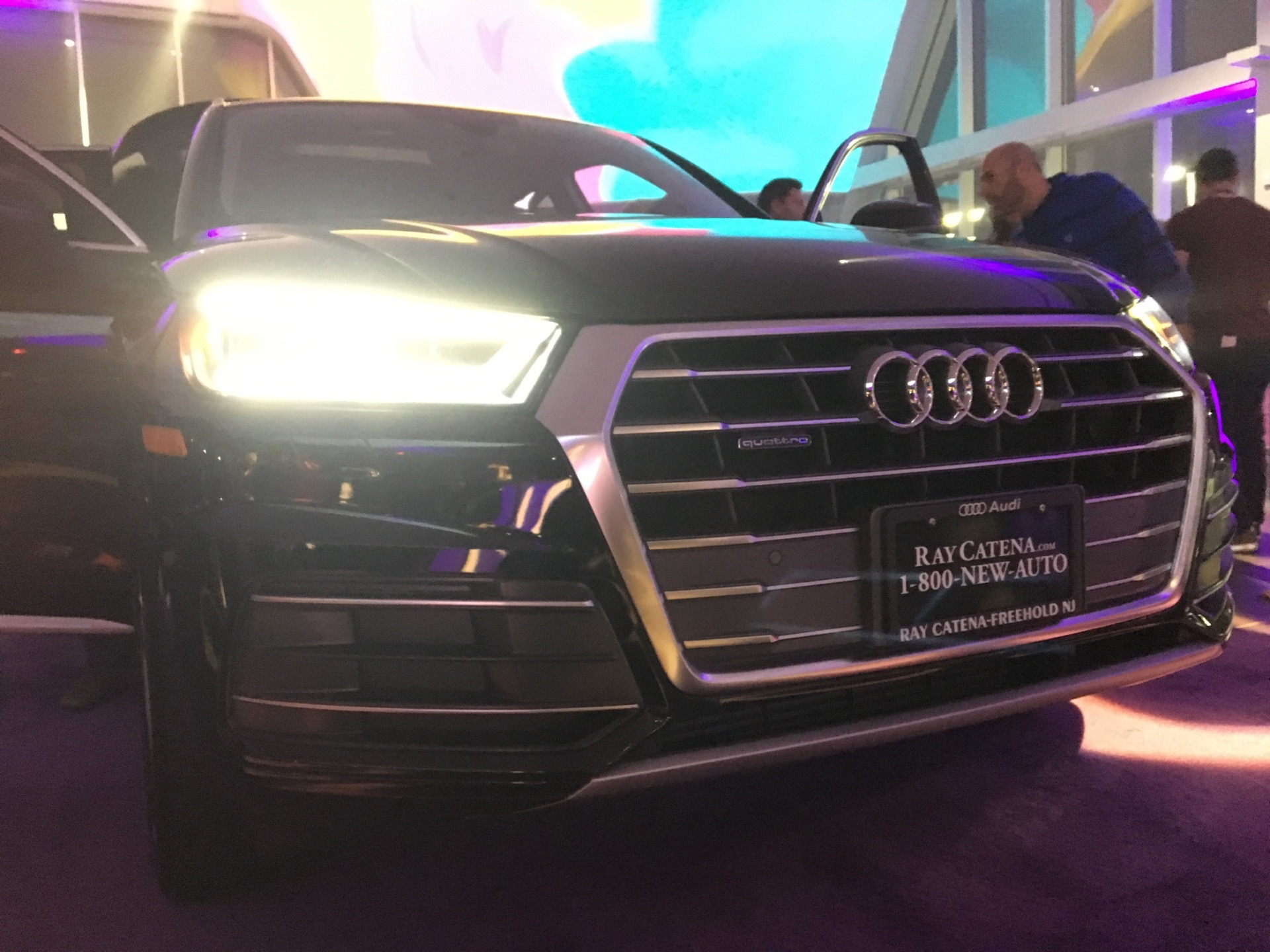 Audi Q Gets Unveiled A Ray Catena Audi Freehold - Ray catena audi