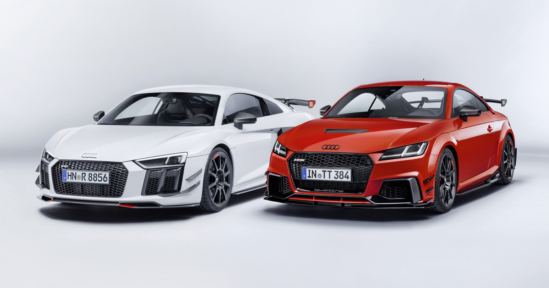 Audi R8 Or Tt Look Like Proper Race Cars