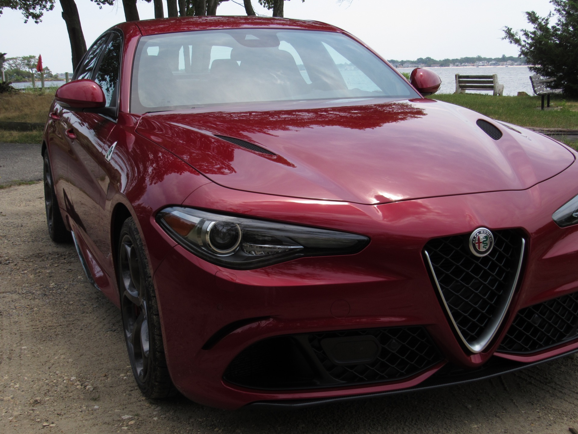 first drive 2017 alfa romeo giulia quadrifoglio my italian dreams finally came true. Black Bedroom Furniture Sets. Home Design Ideas