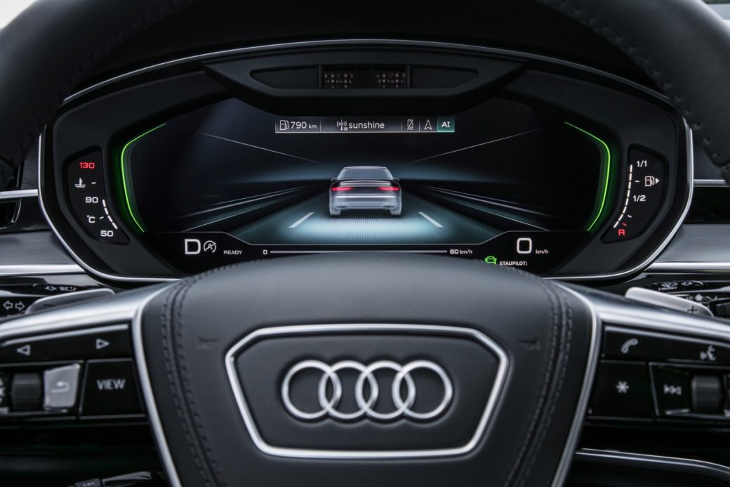 Car And Driver Takes Autonomous Ride In Audi A - Audi car and driver