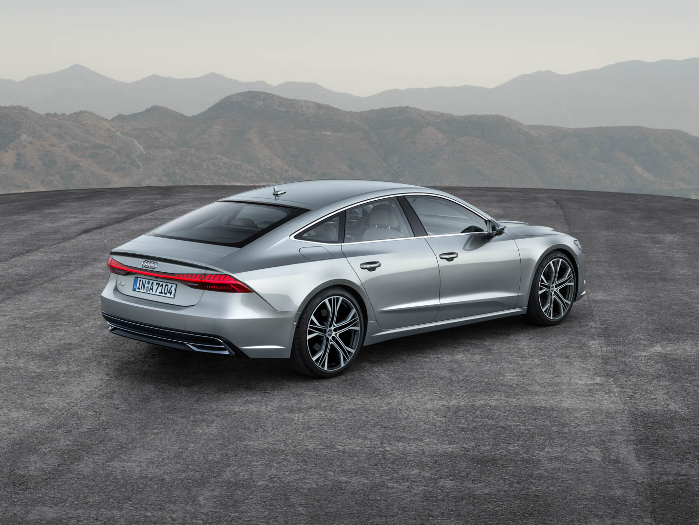 World Premiere 2018 Audi A7 Second Generation Of Beauty