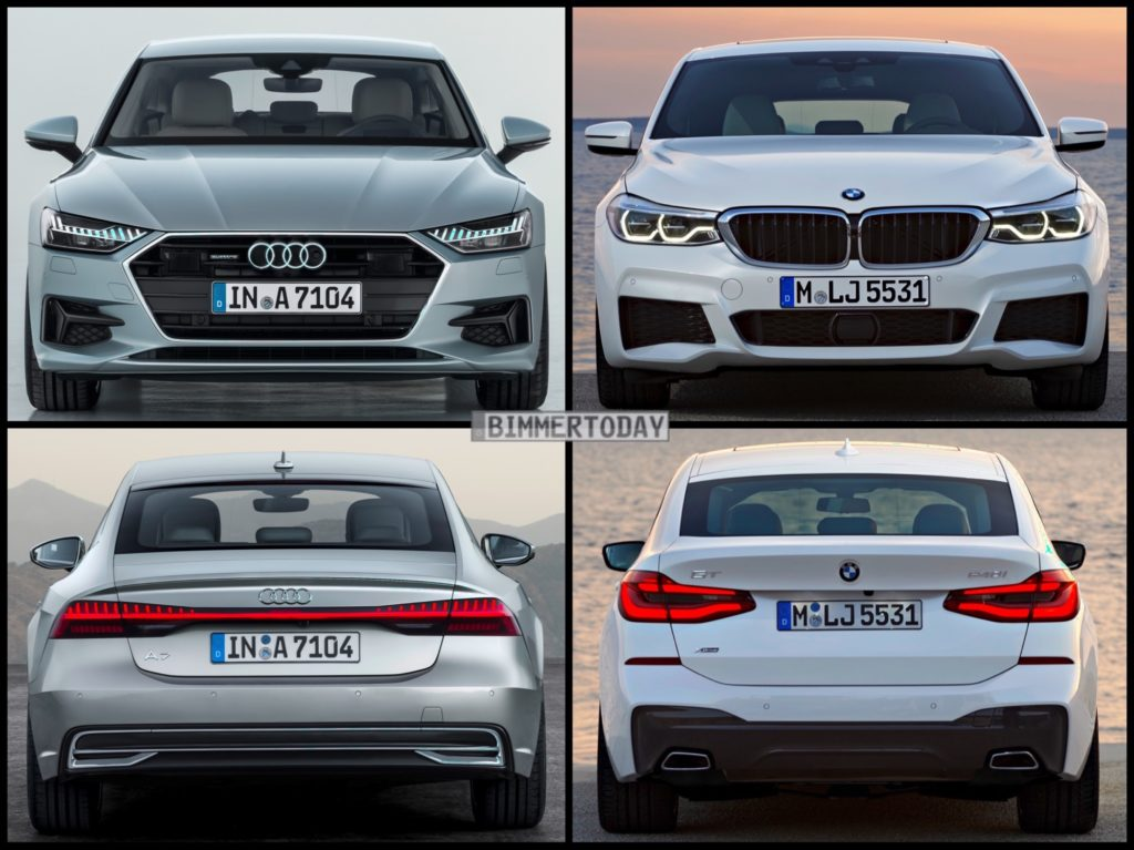 Photo Comparison Audi A Vs BMW Series Gran Turismo - Audi vs bmw