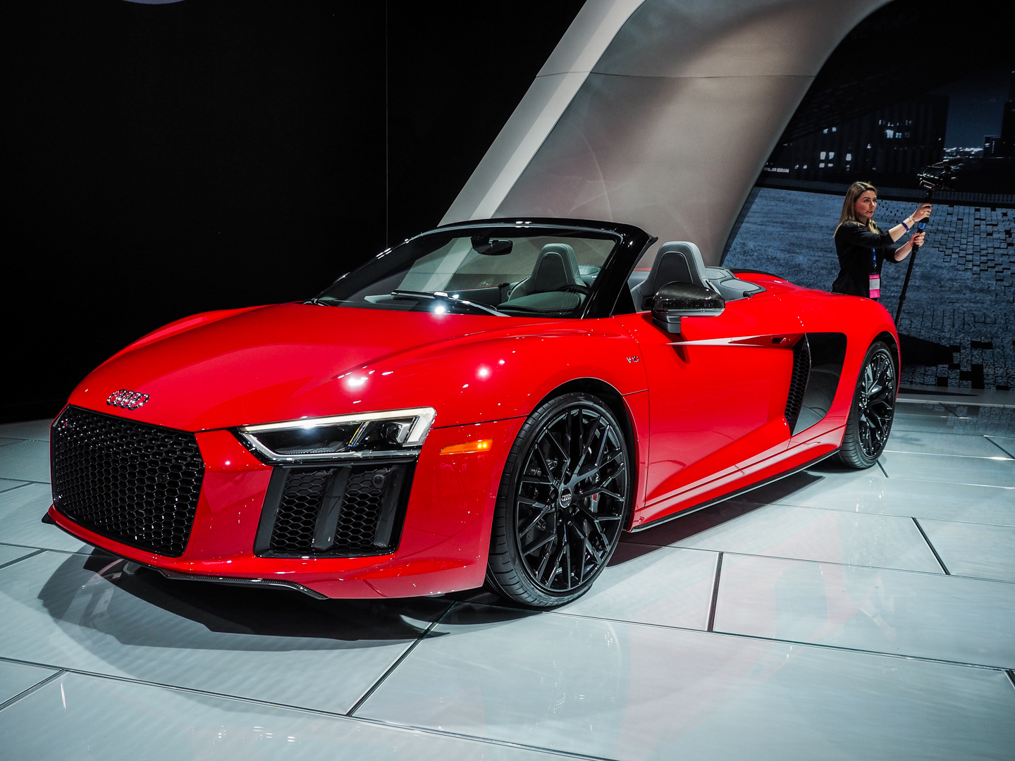 2018 Detroit Auto Show Audi R8 Spyder The Last Of A