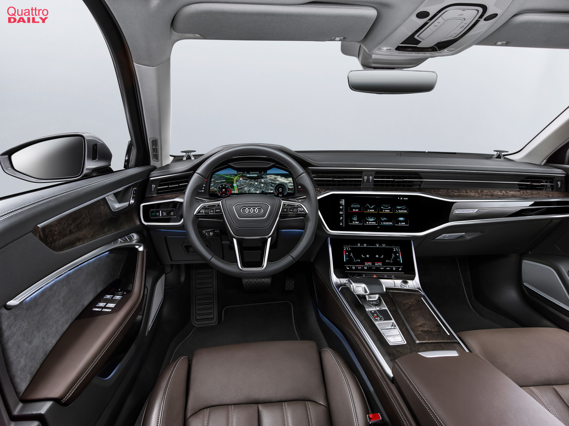 Audi A6 To Get New Bang Olufsen 3d Surround Sound