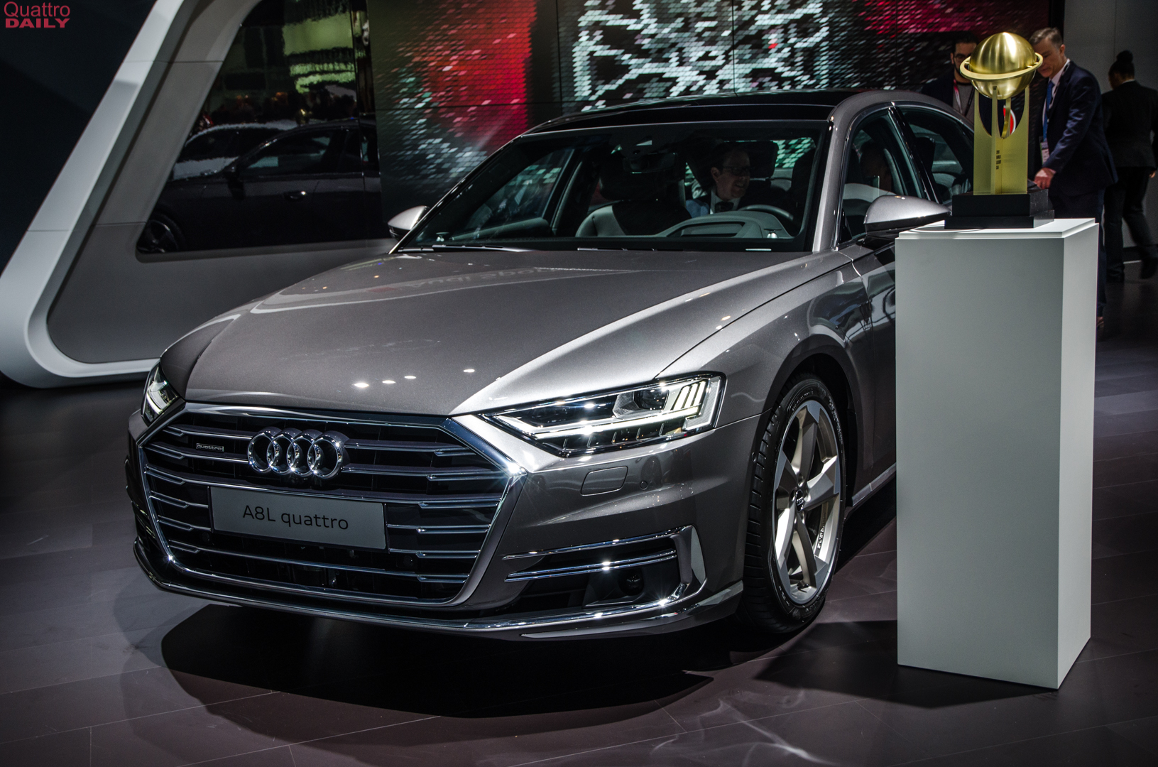 Audi A8 wins World Luxury Car of the Year