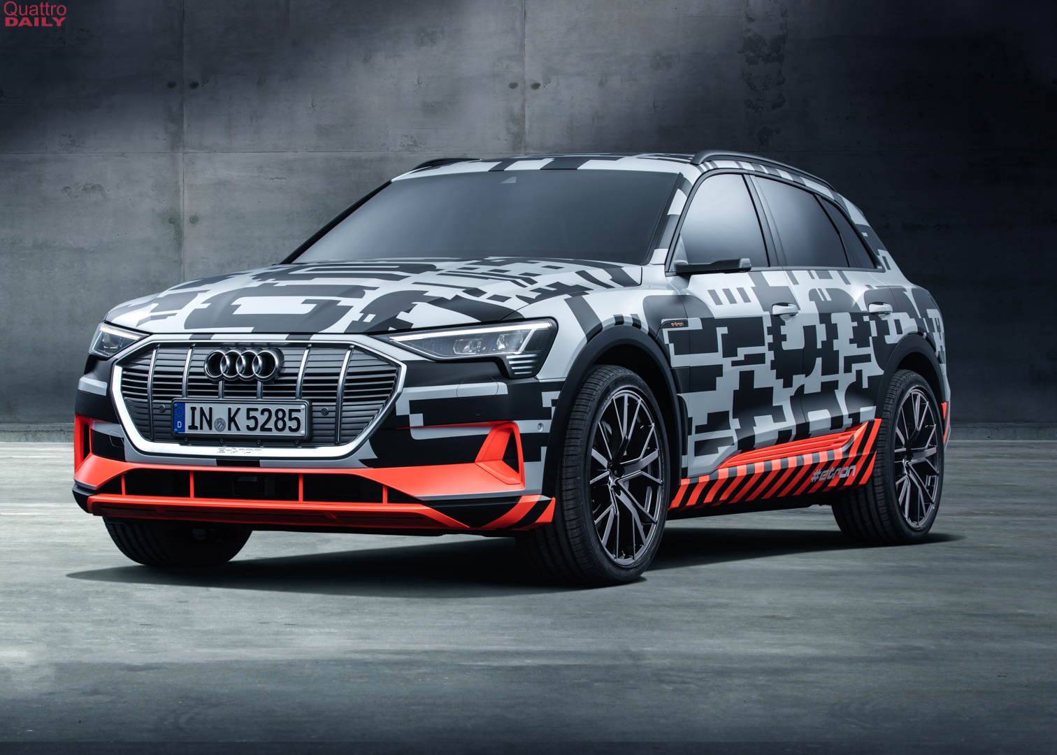 SPIED: Audi e-tron Quattro caught testing at the Nurburgring