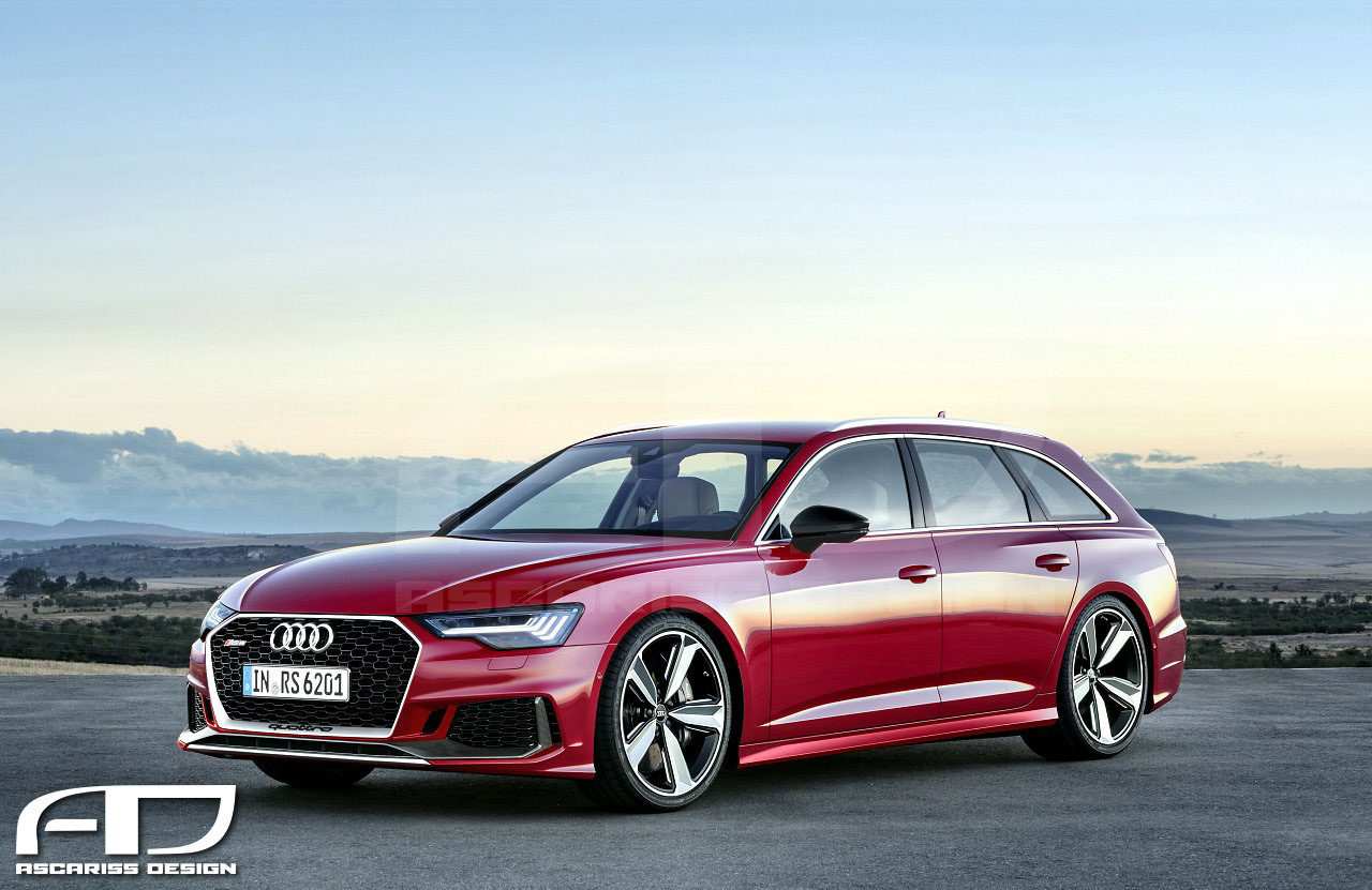 2020 Audi RS6 Avant Rendered