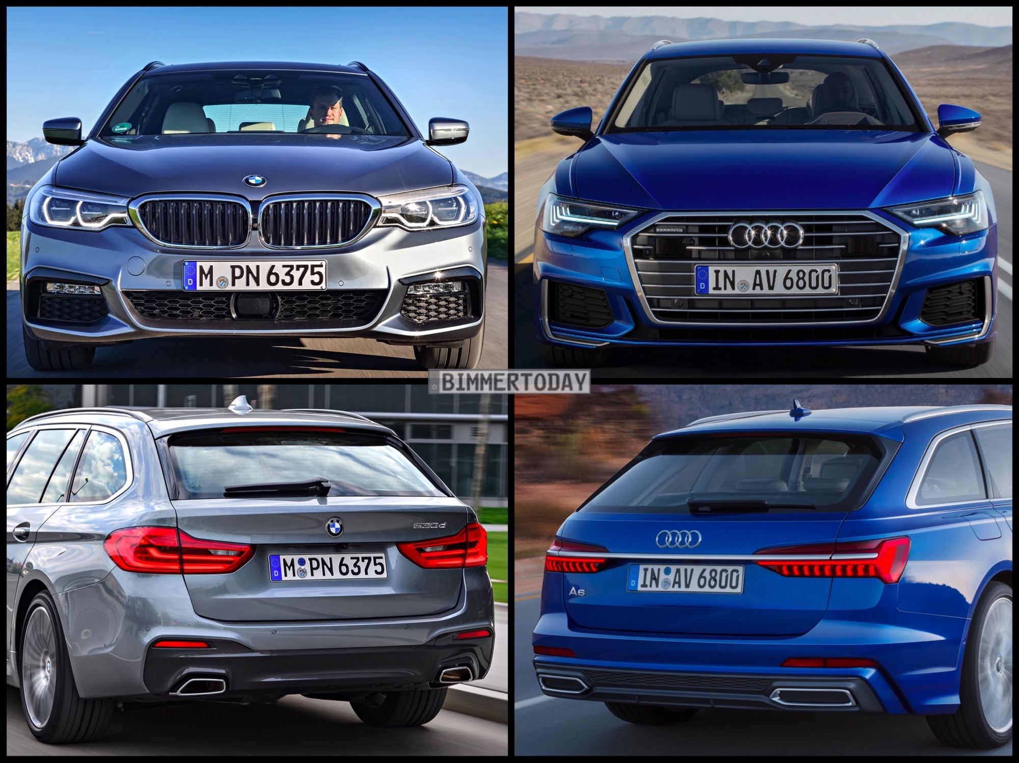 Photo Comparison Audi A Avant Vs BMW Series Touring - Bmw vs audi