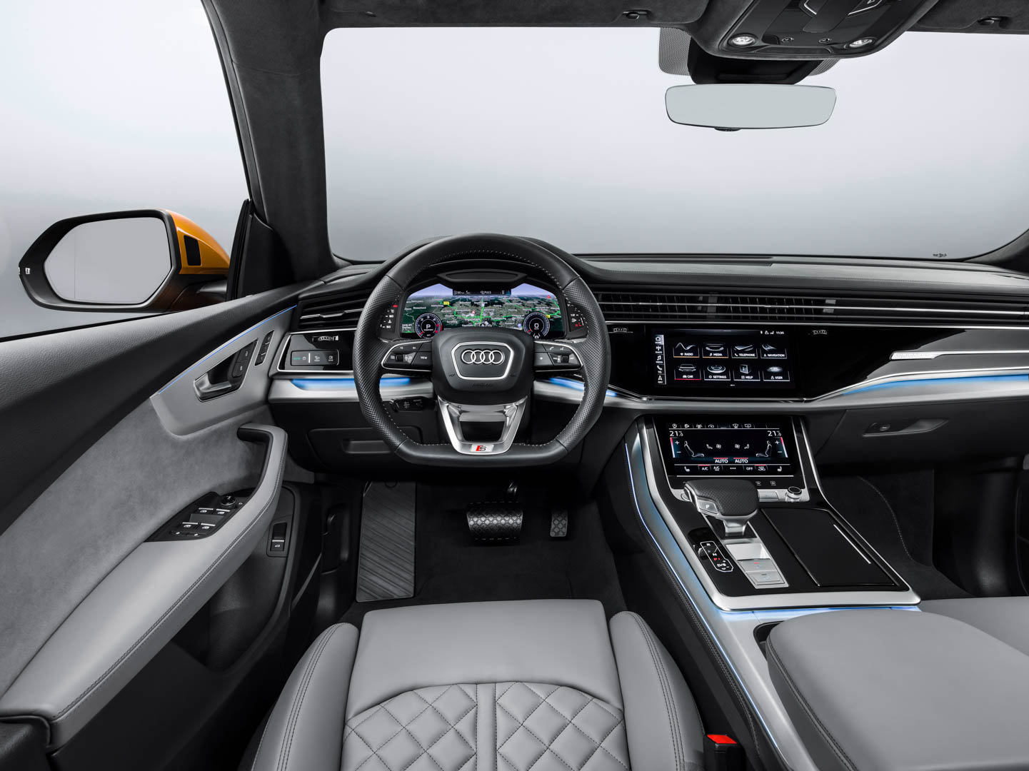 The Challenge For Interior Design Team Was To Take Cabin Of Audi A8 And Make It Work An Suv