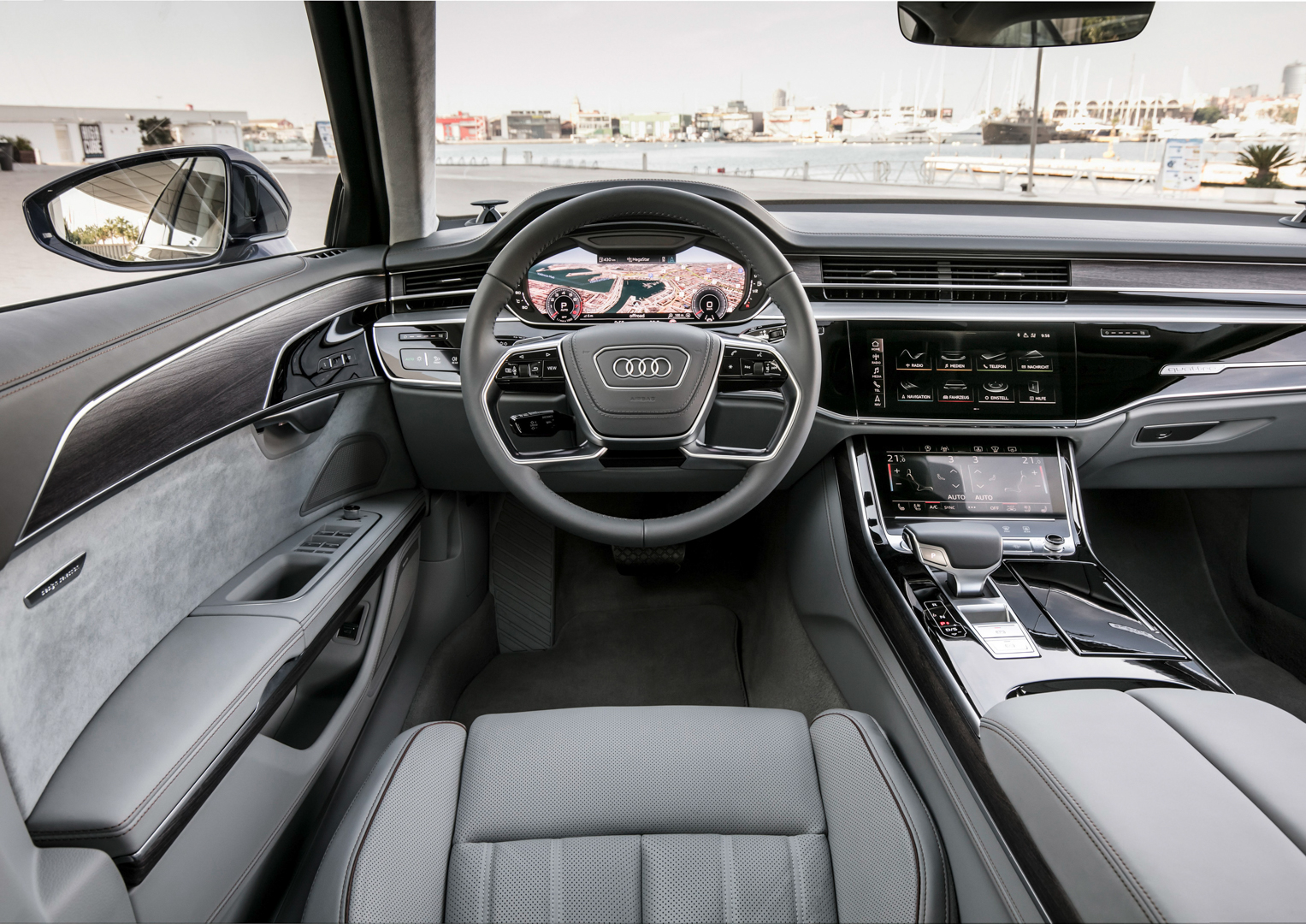 VIDEO: We check out the Touch Response MMI on the Audi A8