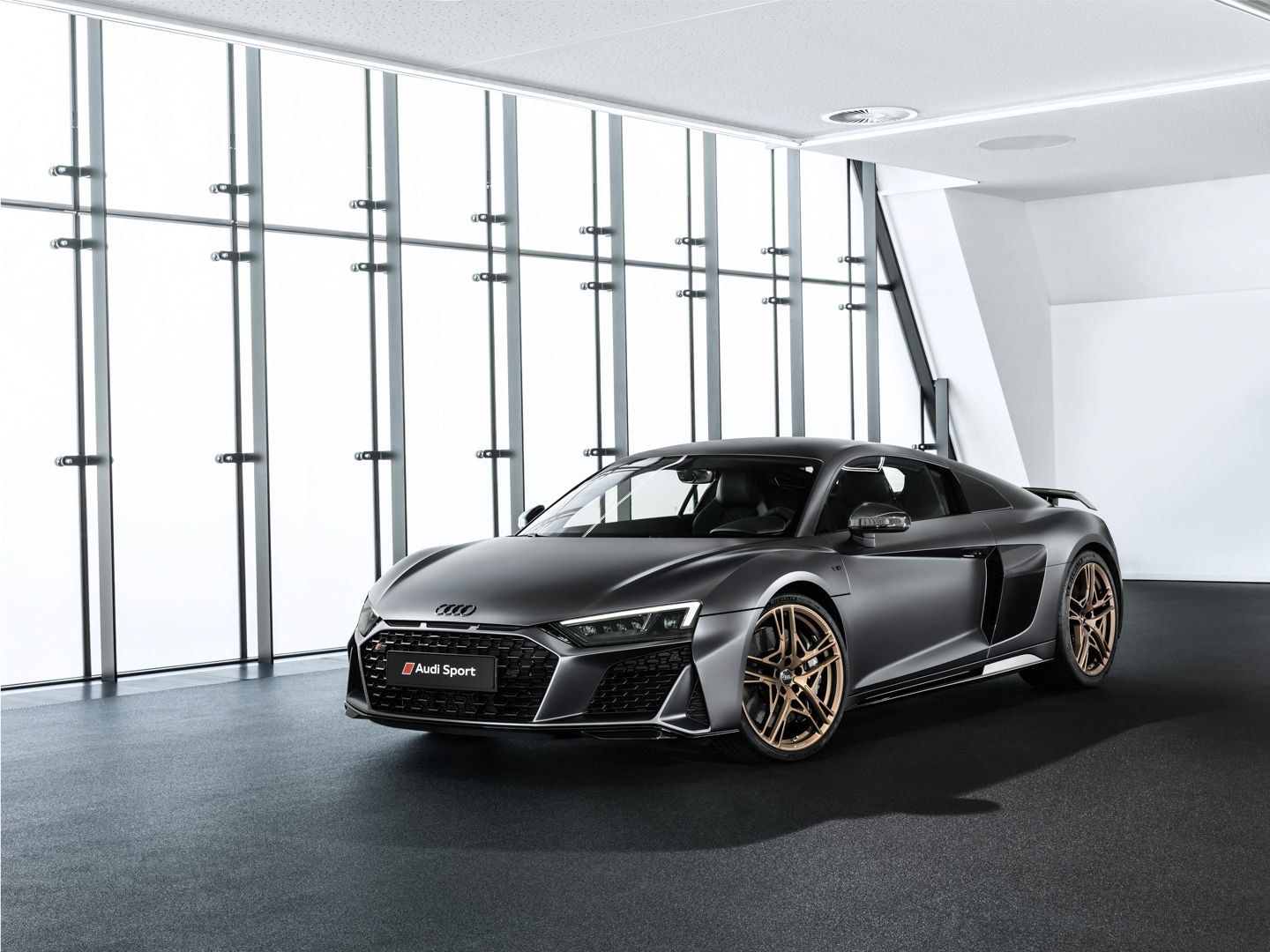 Audi R8 V10 Decennium Pays Tribute To Tens Years Of Its V10 Engine